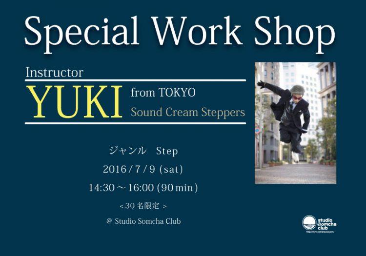 YUKI Sound Cream Steppers W.S 2016